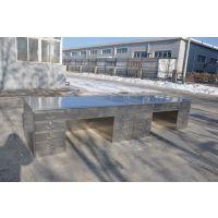 鞍山东安不锈钢SWT-561监控台值长台无磁防静电不锈钢滑道办公桌