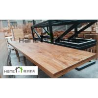 上海万达复古餐厅桌椅订制 实木餐厅桌椅定做 上海韩尔家具厂供应