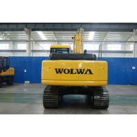沃尔华小型挖掘机路面轮胎挖掘机DLS系列