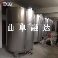 定做304不锈钢酒罐1吨3吨5吨储酒罐厂家直销发酵罐白酒容器