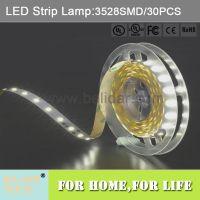 工厂ul认证出口led灯带 3528 30灯 滴胶防水IP65 led strip lamp