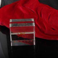 厂家直销,水晶名片夹 工艺品 雕刻各种内容,款式任选