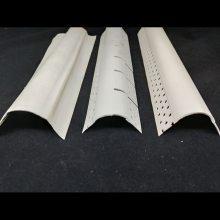 夏博大圆弧安全护角条是PVC材质-PVC阳角护角-柱子圆弧保护条