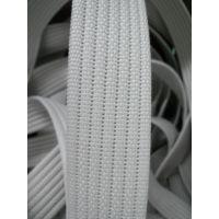 银艺织带 生产46MM宽的坑纹,米色仿棉织带