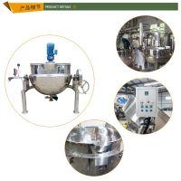 河南省夹层锅厂家 电加热夹层锅 荥阳市民生食品机械厂