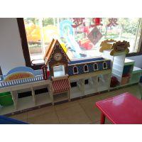 幼儿园各种玩具柜收纳柜小熊造型A套造型米奇玩具柜史努比巴士欧洲小镇阶梯造型