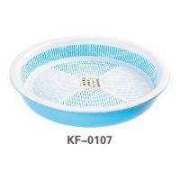 诺德家庭用品实用性强低价圆形层滴水盘大号厂家直销椭圆形滴水蓝
