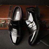 爆款厂家直销温州品牌男鞋 男式皮鞋男真皮 男士休闲鞋外贸单鞋