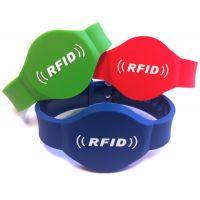 RFID硅胶腕带 智能腕带 门票识别 专业定制