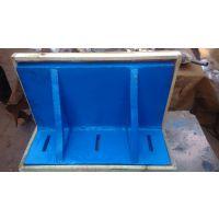 弯板机床辅助工作台,加工中心T型槽铸铁弯板永安厂家直销