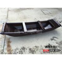 景观装饰仿旧木船 渔船农用船手划小木船