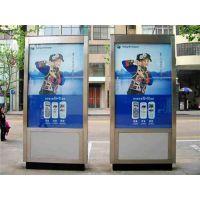不锈钢材质宣传橱窗 不锈钢展板(图) 天津宣传橱窗加工