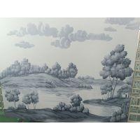 树脂薄板图案印刷加工 瓷砖背景墙UV彩印 来图来料加工