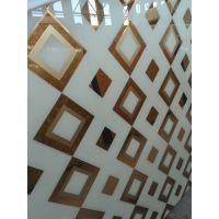装饰酒店大理石、晶石艺术玻璃 背景墙平板喷绘玻璃 沙河佳汇艺术玻璃