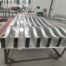 弧形铝方通定制,铝板焊接铝方通吊顶安装方法_欧百得