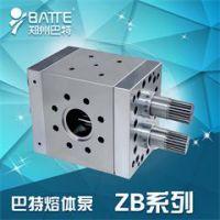 ZB系列双轴驱动熔体泵|巴特熔体泵生产厂家