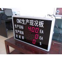 供应车间目视化LED生产现状电子看板