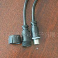 厂家专业供应LED插头 灯具防水公母插头 绝缘接线端子连接线