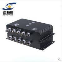 供应深圳市捷锐视时代科技有限公司5路视频复用器监控视频多路复合器共缆传输器一线通叠加器抗干扰