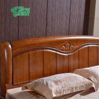 星虎特价床 实木橡木床 简约双人床 1.5米大床 休闲套房家具