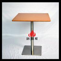 全国热销不锈钢桌脚快餐桌 安杰妮家具五金配件中心生产批发桌椅