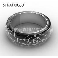 手镯加工生产 纯银首饰加工 不锈钢厂搪瓷制品设计加工定做