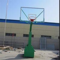 东莞塘厦学校篮球架 体育馆篮球架室内 标准篮球架钢化玻璃透明板