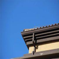 四平吉林遵化阳光房水槽别墅天沟彩铝落水系统