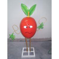 玻璃钢仿真水果蔬菜 景观植物雕塑 树脂卡通果蔬摆件工艺品湖北厂家供应