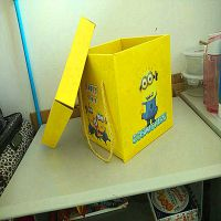 直销时尚高端礼品盒、小黄人大礼包食品盒 工厂生产固定盒出售