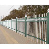 白色小区锌钢栅栏生产厂家(互胜锌钢护栏厂)