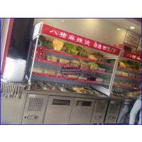 福州连锁麻辣烫冷藏柜,砂锅麻辣烫菜品保鲜柜,麻辣香锅店点菜柜定做