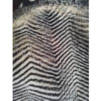 山东淄博新骏毛绒厂直销高端优质印波浪纹人造毛皮