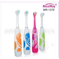 奈喜美OEM生产加工日单新款防水 干电池自动美白护齿电动牙刷