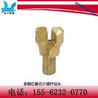 金刚石复合片锚杆钻头    ZTY27-2等 型号  采用螺纹链接