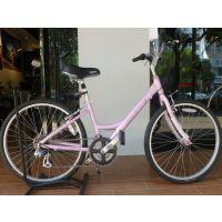 正品包邮 凯路仕魔卡3.0粉色淑女休闲自行车/城市上班旅行单车