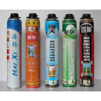 厂家供应聚氨酯泡沫填缝剂 膨胀剂 填充剂 勤顺品质