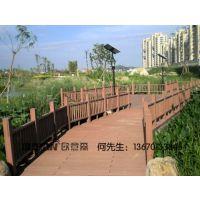 扬州城市公园建设广泛运用塑木地板