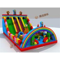 充气蹦蹦床实拍图,质量好一点的充气城堡什么价格,儿童气垫床一般能用几年?