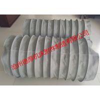 沧州德厚专业生产移动滑动专用伸缩软连接 耐高温伸缩软连接