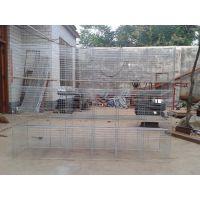 生产兔笼铁丝网底镀锌不生锈优质兔子笼 3层4层兔子笼 安平佳久