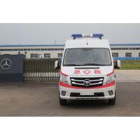 国5排放福田-图雅诺-长轴-监护-救护车-转运救护车120急救康明斯2.8T发动机