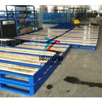 东莞锦川新型钢木托盘厂家,定制便宜实用耐用钢制铁卡板,非标定做各种非标卡板