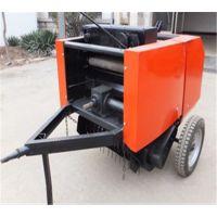 新型收获机械打捆机简易打捆机行走式麦草打捆机富田厂家直销