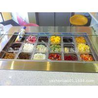 2米工作台图片 哪个冷柜品牌好 甜品店设备批发 中国甜品连锁冰柜