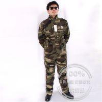 户外迷彩服套装 外套特种登山军训工作服 军迷耐磨 劳保服