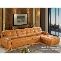 莱美诗沙发k23# 进口头层牛皮真皮沙发 中厚皮质简约现代客厅组合 豪庭家具沙发批发定制