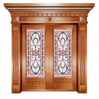 家装铜门,古典优雅别墅门,中南豪华设计