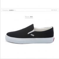 厂家直销2016新款一脚蹬懒人鞋优质帆布鞋 质量好价格低