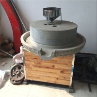 饭店专用高硬度耐磨石磨机 电动石磨米浆机 鼎信